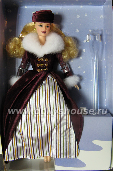 Коллекционная кукла фигуристка викторианка