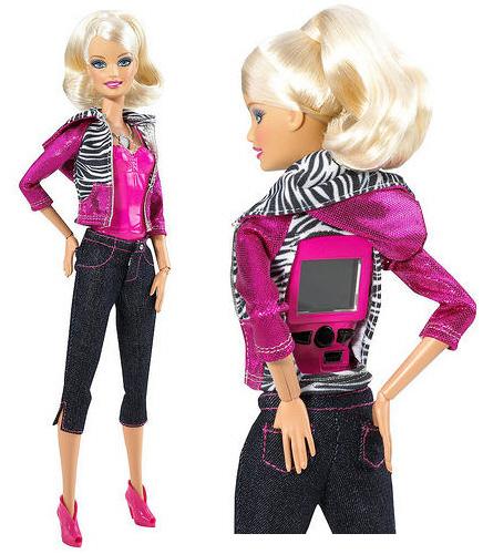 Барби на Foursquare