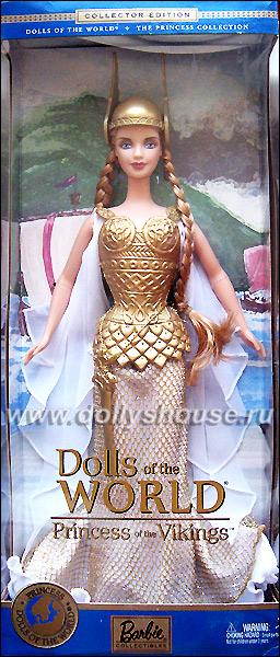 Коллекционная кукла Барби викинг