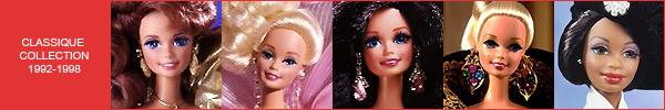 Коллекционные куклы Барби Classique Collection Barbie каталог