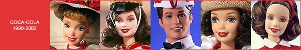 Коллекционные куклы Барби Coca-Cola