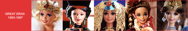 Коллекция Barbie Great Eras каталог