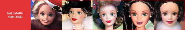Каталог коллекционных кукол Барби Hallmark