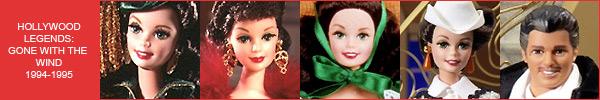 Каталог коллекционных Барби Унесенные Ветром Скарлетт О Хара