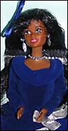 Кукла Барби афроамериканка Winter Velvet