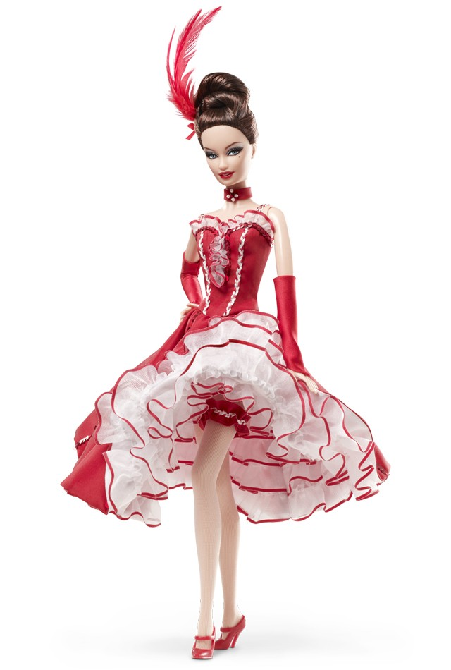 Moulin Rouge Barbie. Барби танцует в кабаре Мулен Руж