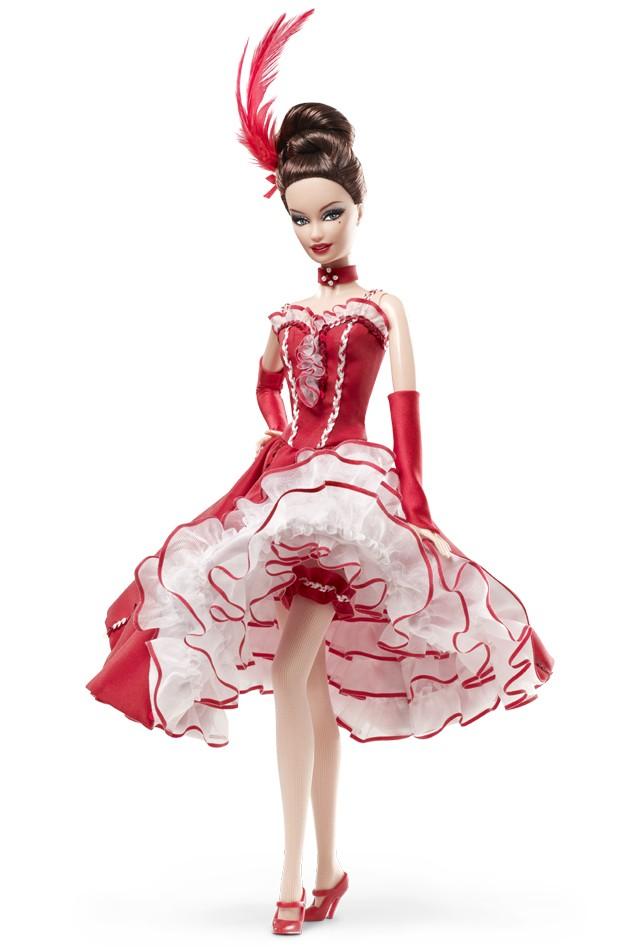 Фото Барби коллекционной куклы Мулен Руж