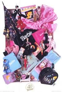 Коллекционный постер к 40-летию Барби от Джилл Ферри-Шумм