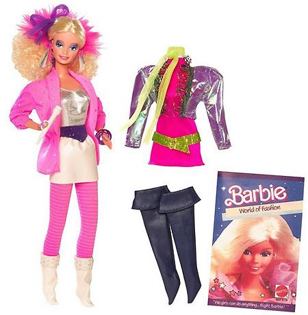 коллекционная кукла Барби Капсула Времени