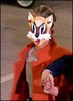 костюм Одри Хэпберн в маске кошки