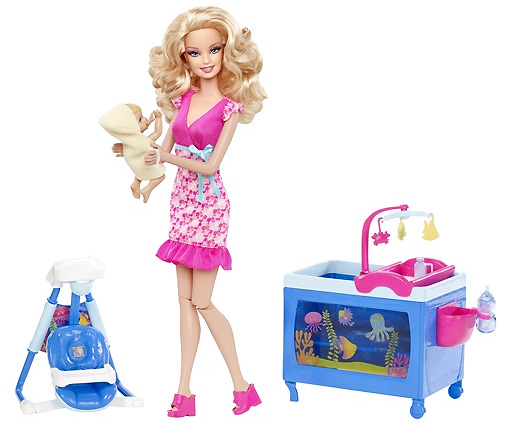 Барби Я Могу Стать няня