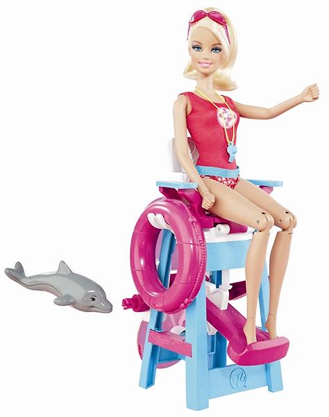 кукла Барби Я Могу Стать спасатель