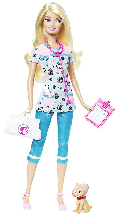 Кукла Барби Я Могу Стать Ветеринар