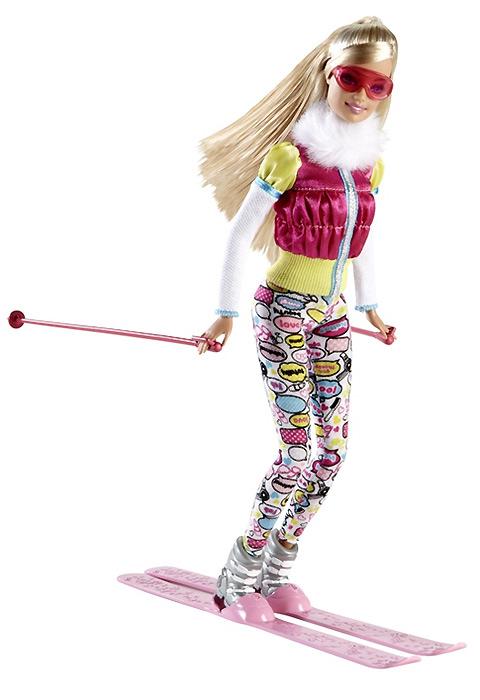кукла Барби Я Могу Стать лыжница