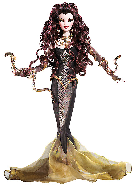 коллекционная кукла Барби Медуза Medusa Barbie