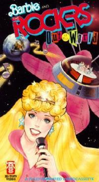 Постер Барби в космосе