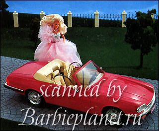 наклейка Барби Панини Panini 90-е Барби в бальном платье