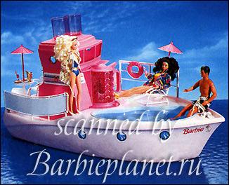 корабль яхта Барби Dream Boat