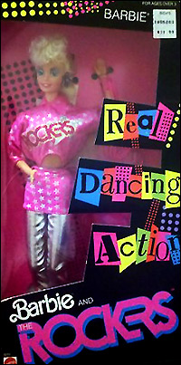 кукла Барби двигается Barbie and the rockers