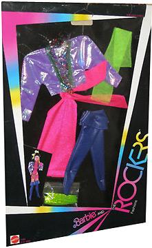 костюм для Барби 80-е Дана