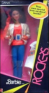 Кукла подруга Барби Rocker Dana