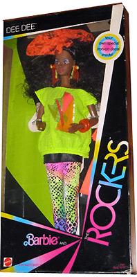 Темнокожая кукла Rocker Dee Dee
