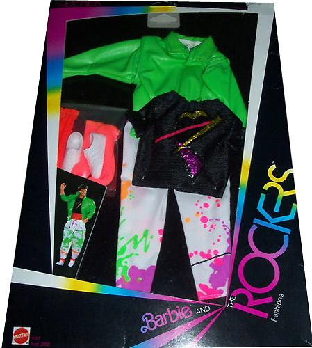 мужской костюм для куклы 80-е Дерек