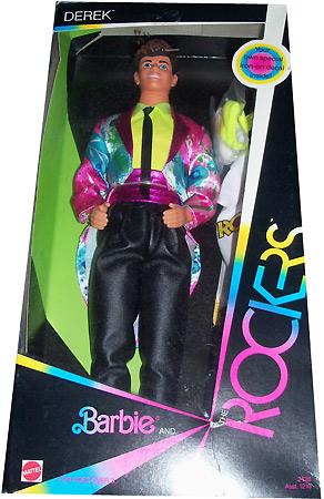кукла Дерек Rocker Derek 1986