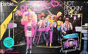 рок сцена для кукол Барби