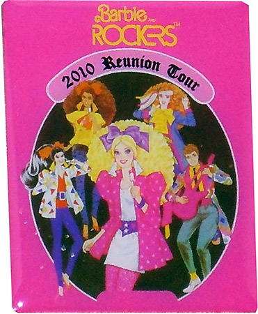 значок Барби конвенционный