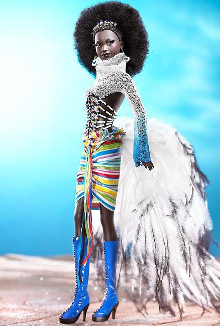 Коллекционная кукла Барби от Байрона Ларса Мбили Mbili Byron Lars