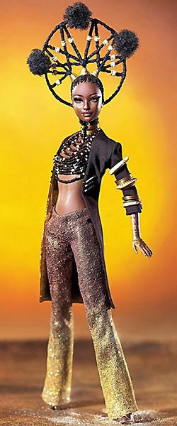 Коллекционная кукла Барби от Байрона Ларса Moja Byron Lars