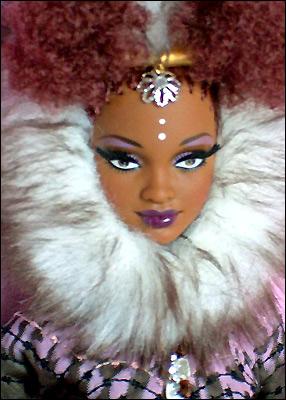 Коллекционная кукла Барби от Байрона Ларса Нне Nne Byron Lars