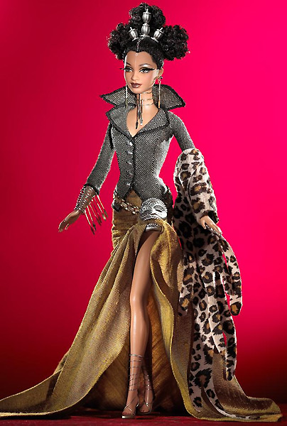 Коллекционная кукла Барби от Байрона Ларса Тату Tatu Byron Lars