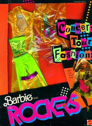 фирменный наряд для куклы Барби