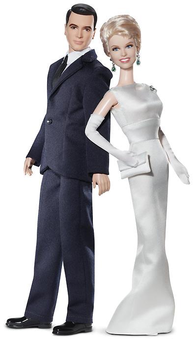 коллекционная кукла Барби и Кен Дорис Дэй Рок Хадсон