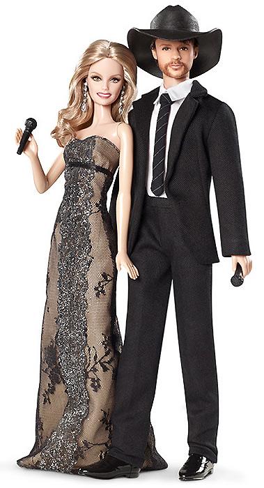 Barbie Faith Hill & Tim McGraw Gift Set. Кукла Фэйт Хилл и ее муж Тим Макгроу