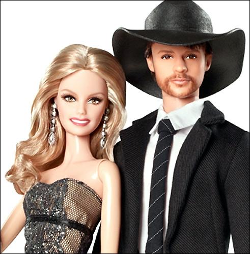 Барби портретные куклы Фэйт Хилл и Тим Макгроу Faith Hill Tim McGraw