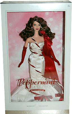 Коллекционная кукла Барби мятный леденец
