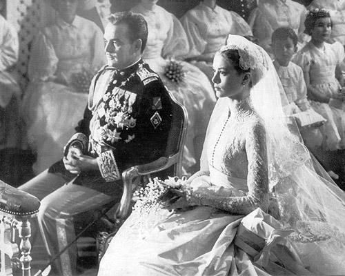 свадебное фото Грейс Келли