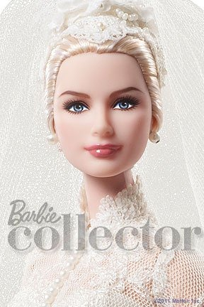 Коллекционная кукла Барби Грейс Келли Silkstone Bride Grace Kelly Barbie