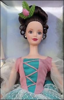 коллекционная кукла Барби Fair Valentine