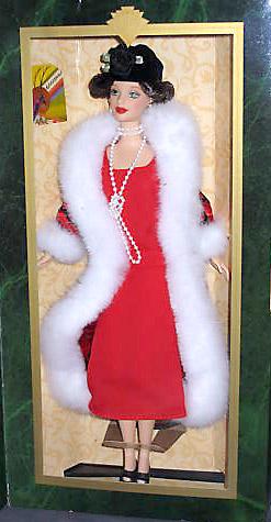 коллекционная кукла Барби в стиле ар деко