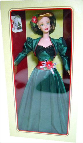 коллекционная кукла Барби рождество