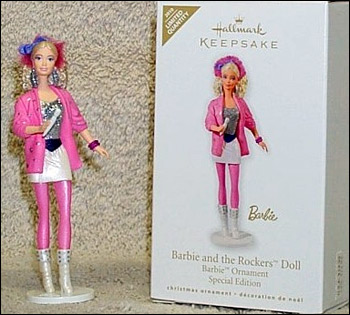 фигурка холлмарк hallmark barbie and the rockers