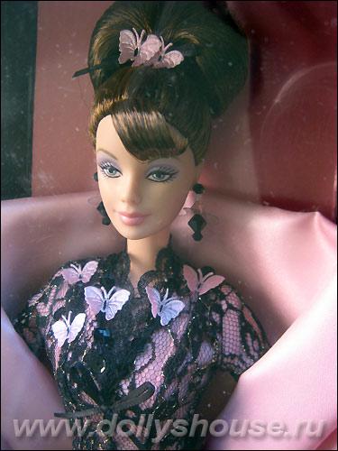Коллекционная кукла Барби Hanae Mori от Ханаи Мори