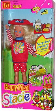 кукла макдональдс Happy Meal Stacie