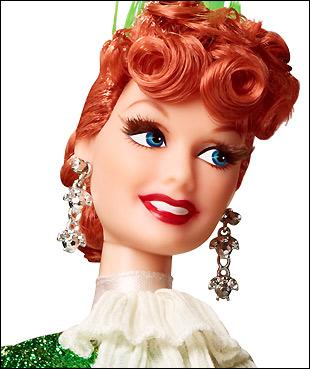 портретная коллекционная кукла Я Люблю Люси