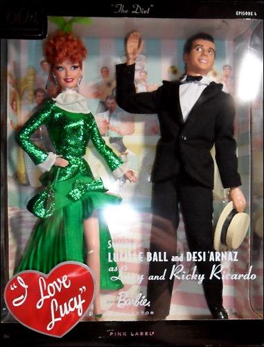 портретная коллекционная кукла Я Люблю Люси набор