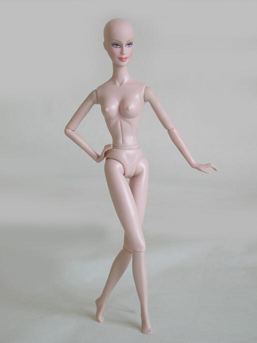 Шарнирное тело коллекционной куклы Joe Tai